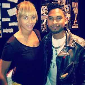 Beyonce' and Miguel join together